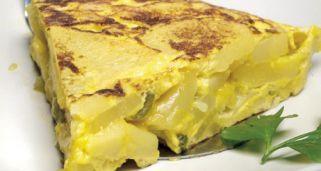 Receta de Tortilla de patatas Receta de cocina básica
