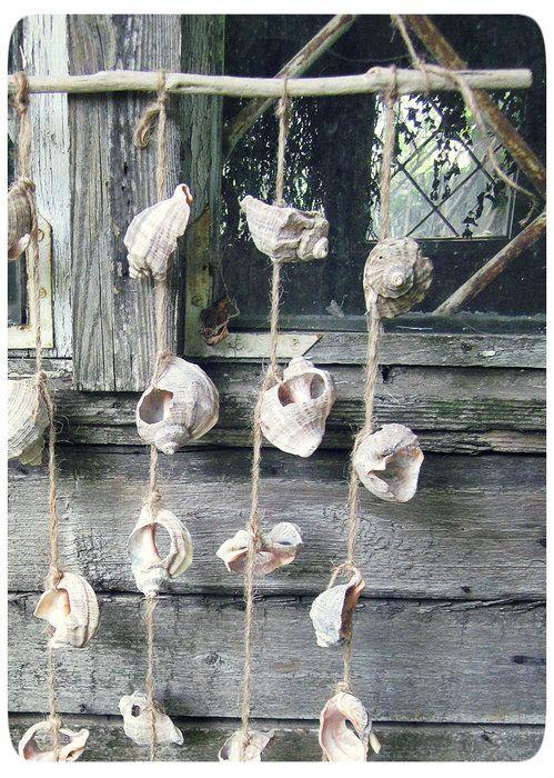 музыка ветра из ракушек