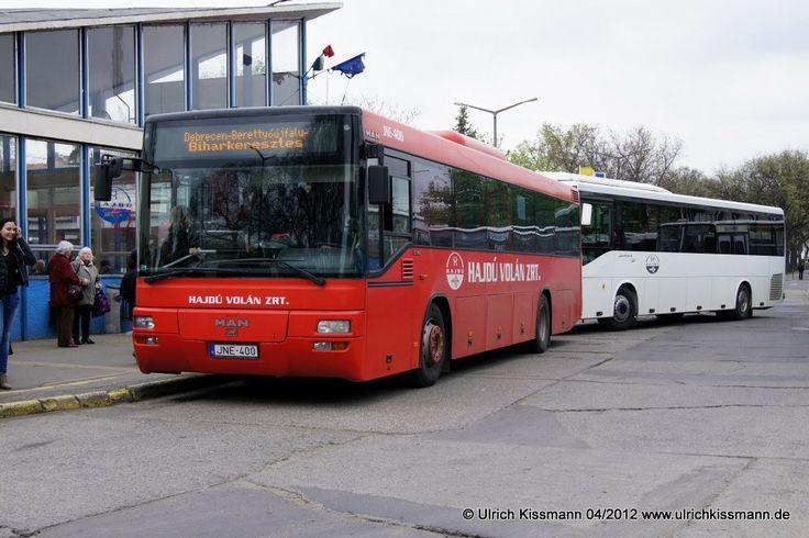 JNE-400 Debrecen Helyközi Autóbusz-Állomás 18.04.2012