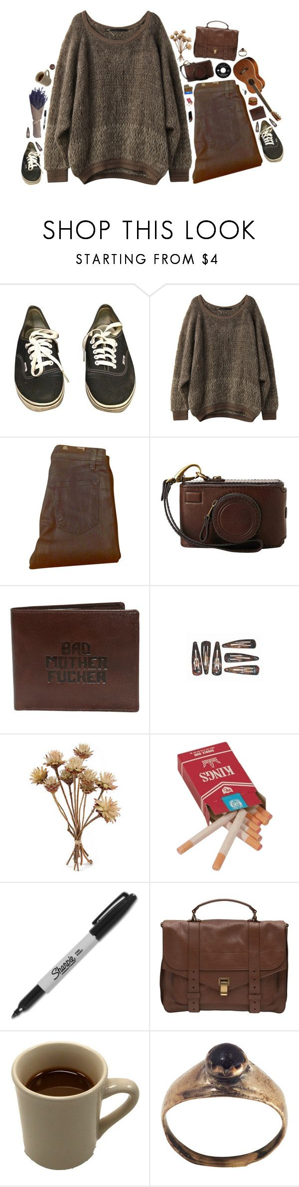 """""""buried"""" by xambergurlx ❤ liked on Polyvore featuring Vans, J Brand, Sharpie, Proenza Schouler, vintage, Hipster, indie, grunge and 90s"""