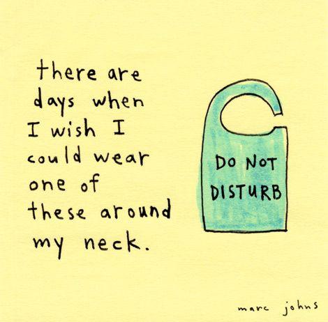Marc Johns: do not disturb