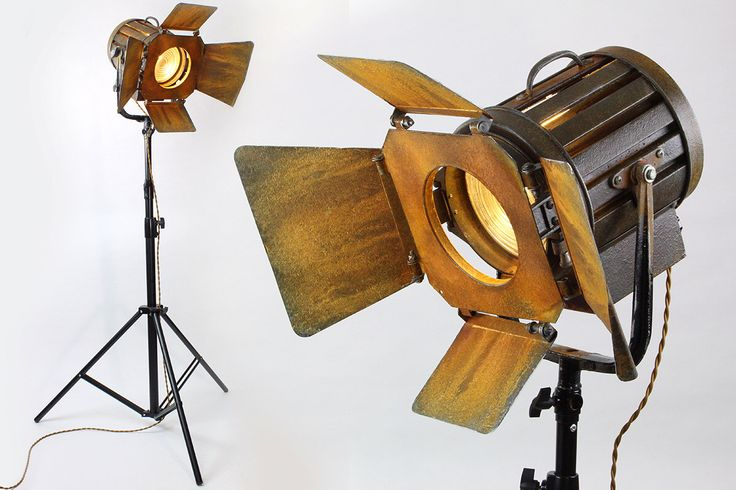 TOASTY Studio Spotlight Floor Lamp w/ Custom Paint & Heavy Duty Stand – Lighting Home Décor Collectable by RetroPickers on Etsy https://www.etsy.com/listing/270135342/toasty-studio-spotlight-floor-lamp-w