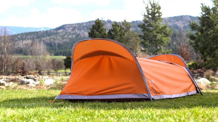 Part hammock, part tent, 100-percent awesome
