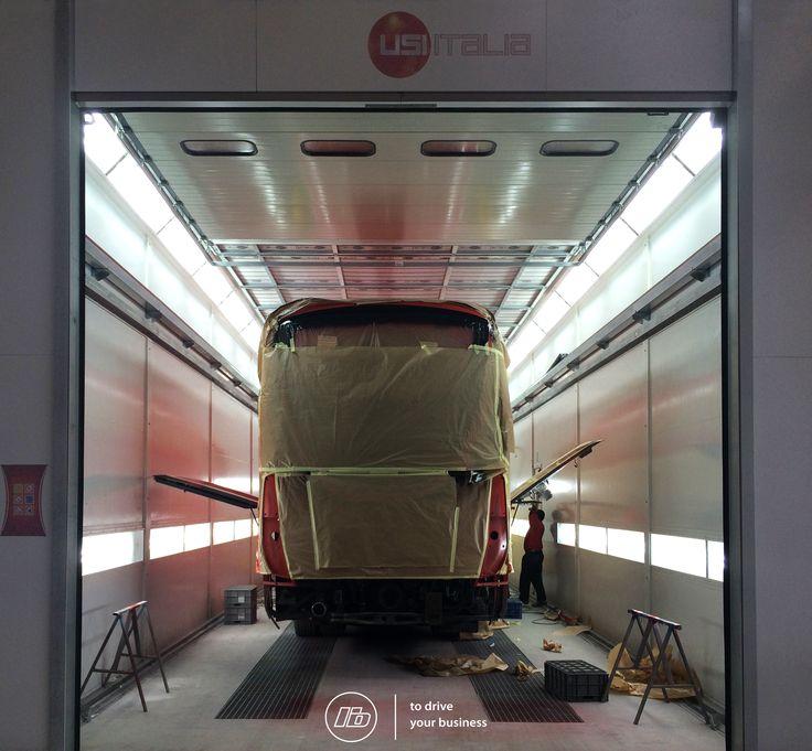 Estufa de alta performance   High standards painting system #liderbus