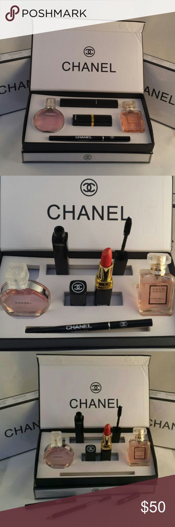 chanel 5 gift set. chanel gift set 5 pieces new t