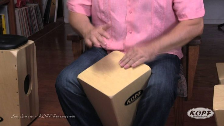 The New Cuban Quinto Cajon from Kopf Percussion. Joe Garcia demonstrates the newest addition to our Cuban Cajon Line!