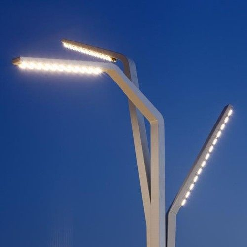 detail lichtmast boulevard Scheveningen