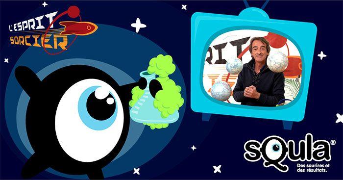 """Fred (C'est Pas Sorcier) revient en jeux éducatifs sur Squla - Sur Squla, le contenu est présenté sous forme de """"missions"""" par matière, basées sur le programme scolaire, et de jeux éducatifs. Une solution parascolaire 2.0 innovante et récréative, qui ..."""