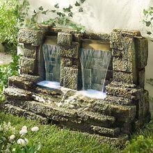 Декоративные садовые фонтаны и водопады: фото, устройство, как сделать из камней