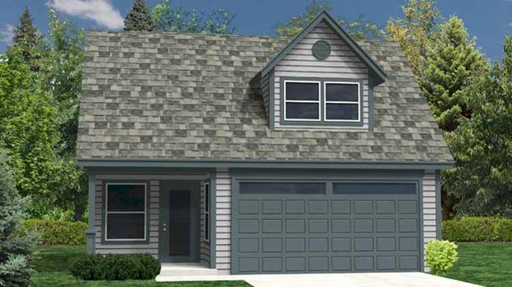 Eplans garage plan garage with versatile bonus loft 0 for Versatile garage floors