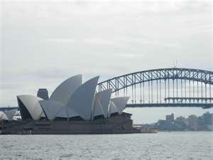 Sydney Harbour Bridge and The Opera House