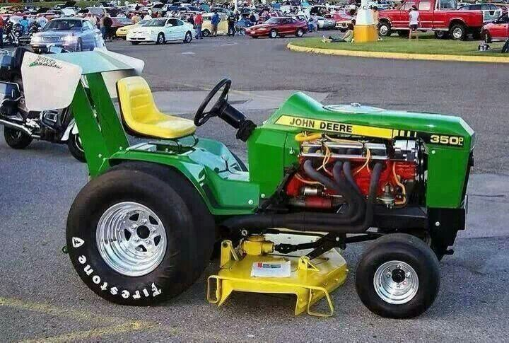 V8 chevy john deere mower random pinterest john deere and john deere mowers - Lawn mower for small spaces decor ...