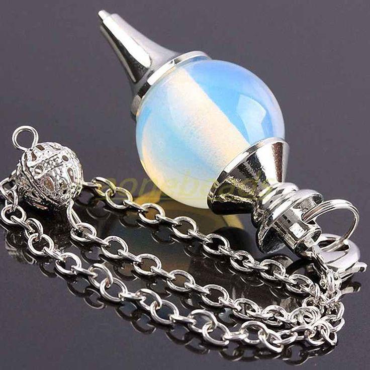 Opal Crystal Healing Reiki Pendulum
