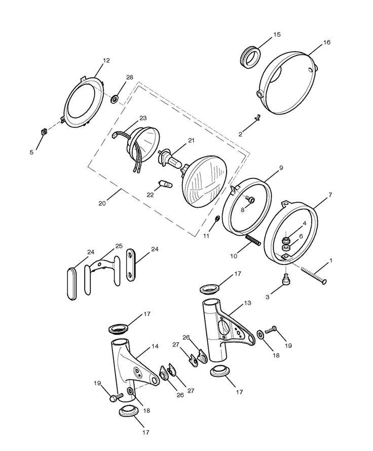 Triumph Bonneville T100 Parts Diagram