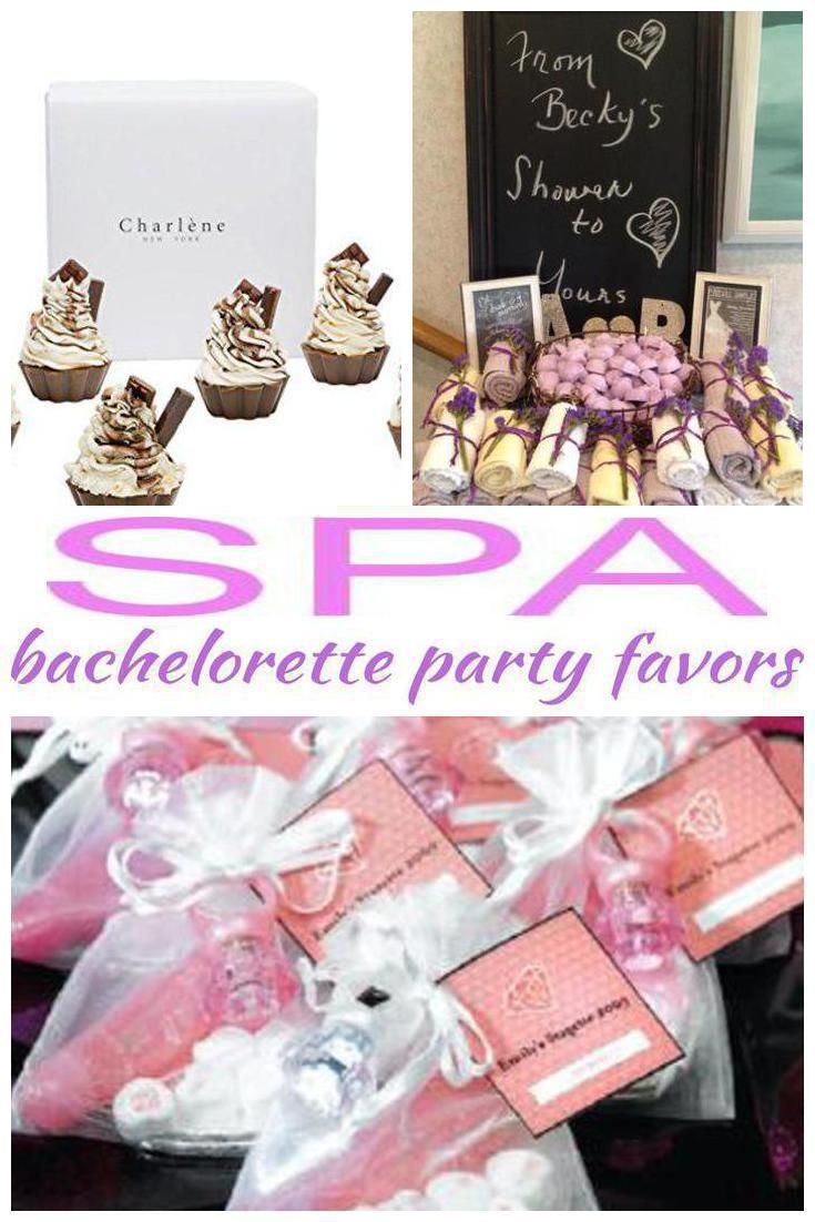 Spa Bachelorette Party Favors | Bachelorette Party Favors ...
