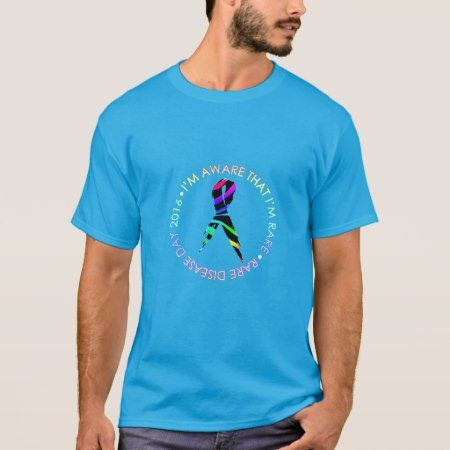 Rare Disease Day - Two-Sided Facts Shirt - click to get yours right now!