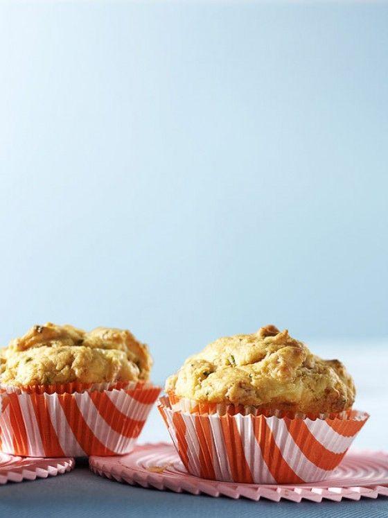 Tolles Rezept für Herzhafte Muffins. Ich mache alles was im Kühlschank gibt rein. Geht auch schnell.