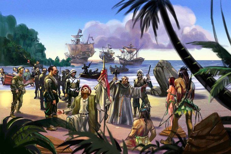 1492. Descubrimiento de América