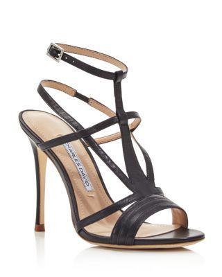 Charles David Onia Strappy High Heel Sandals | Bloomingdale's
