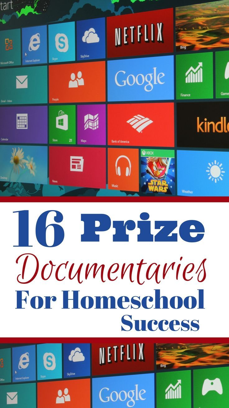 Find 16 homeschool documentaries to educated your children with netflix and youtube