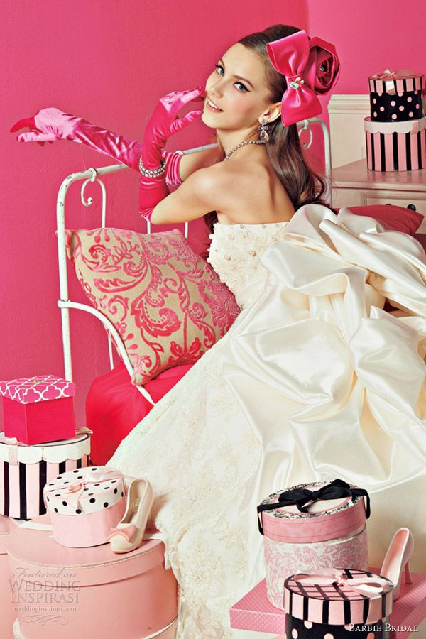 barbie wedding dress 2012 romantic ball gown