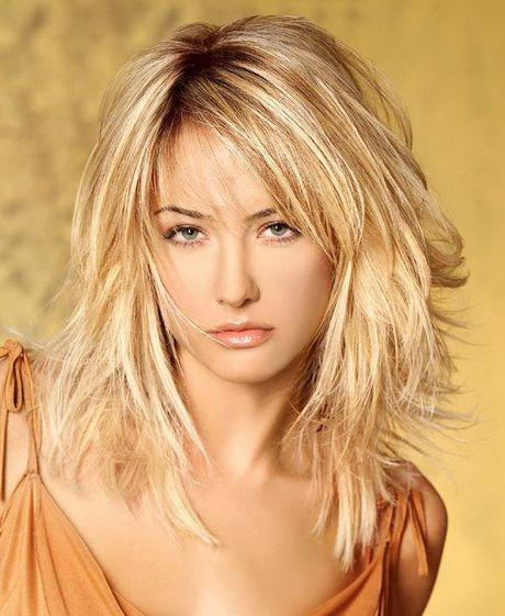 Amazing Medium length layered hairstyles with bangs layered-hairstyles-w