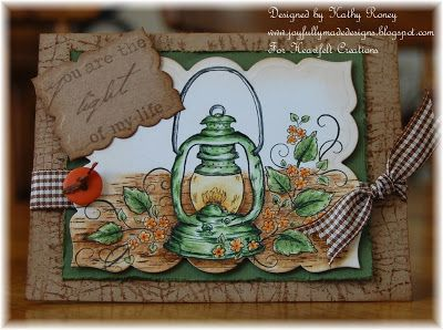Heartfelt Creations - Antique Lantern