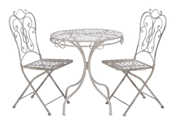 Patio Vintage Themed Outdoor Table And Chair Set