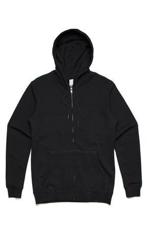 Fuel Clothing Co Scriptless Hoody Zip