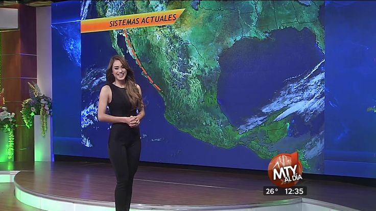 The weather forecast with Yanet Garcia - 2.11.16 ~ Ardan News