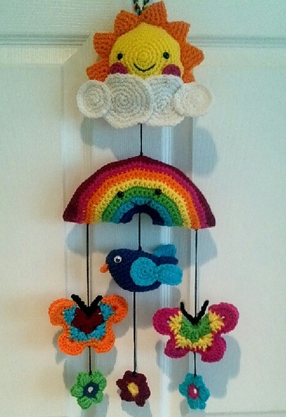 HAPPY DAY MOBILE | crochet today | REPINNED