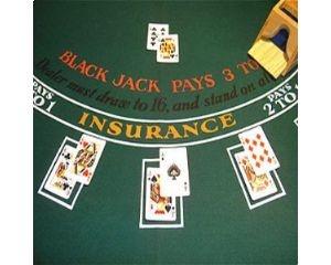 Blackjack Table Cloth