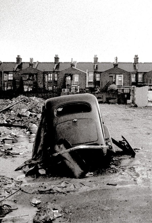 Photographer John Claridge took pictures in the East End between 1960 and 1987. FORD. E.13-61