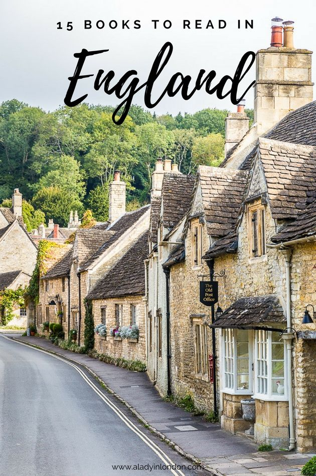 I want to share 15 books to read in England. I've read all of them and I hope they inspire you to travel in the UK and keep you company while you do.