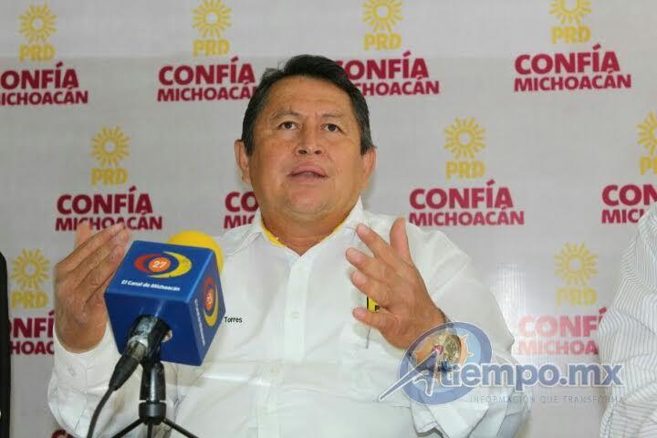 El presidente del Comité Ejecutivo Municipal del sol azteca, Javier Maldonado, llamó al alcalde de la capital michoacana a asumir su papel como responsable de la seguridad pública en el ...