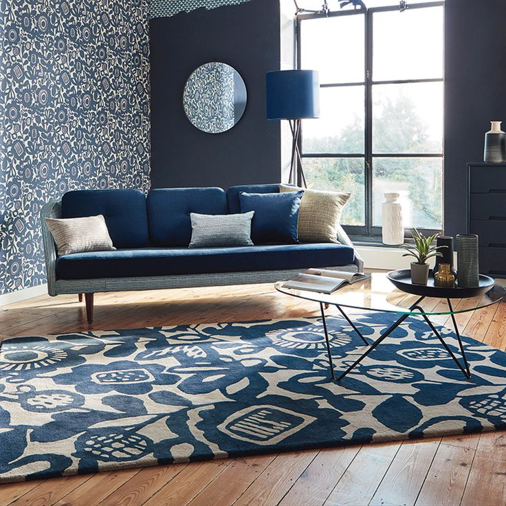 Design Rugs For Living Room Delectable 173 Best Floral Rugs Images On Pinterest  Contemporary Rugs 2018