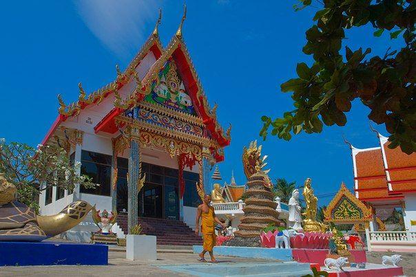 Таиланд, Ко Лан, Китайский храм