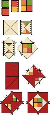 Four Square block instructions