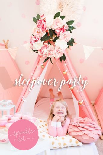 Themed Tent Parties Delivered To Your Doorstep Set Up Clean Included Are Perfect For Birthday SleepoverParties And Celebrations