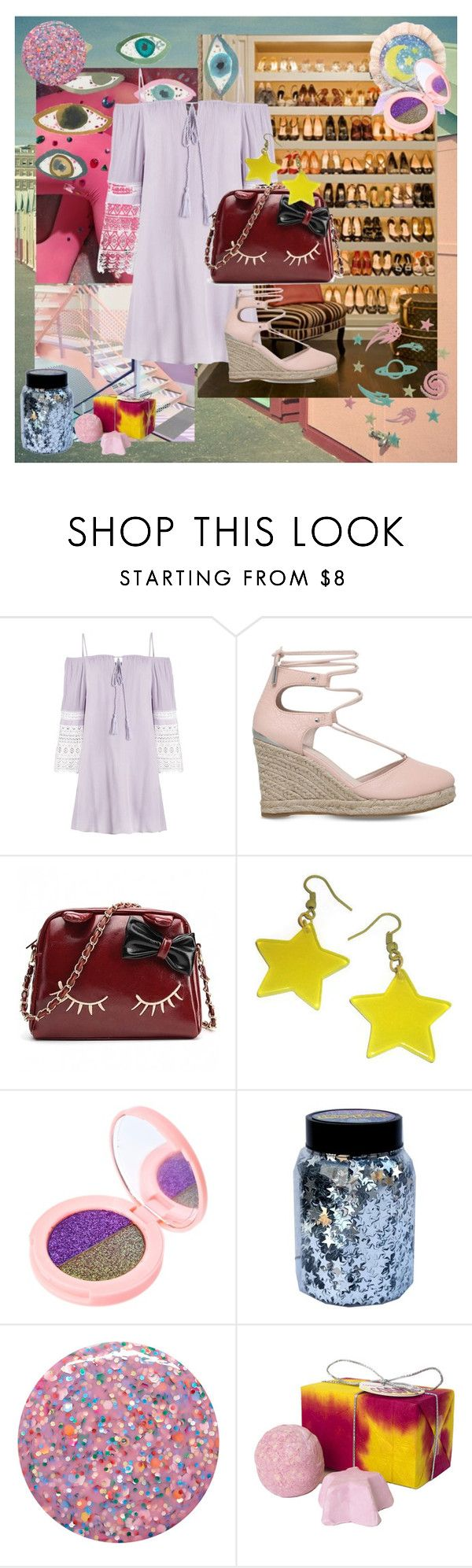 """A Belle to Remember"" by frerardforever ❤ liked on Polyvore featuring Carvela, Lime Crime, CO and Deborah Lippmann"