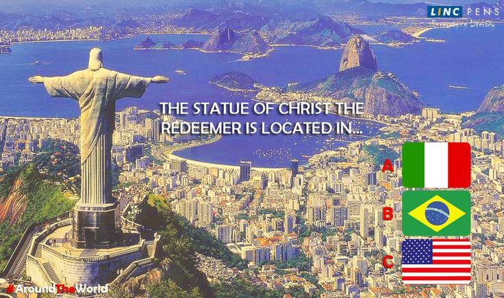 #Statue of #ChristTheRedeemer is located in?