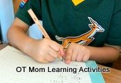 Fun fine motor activities to try at home with your child. Help improve the skills needed for handwriting!