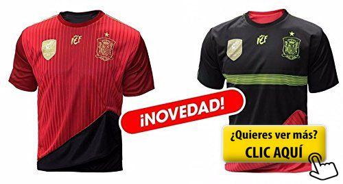 Selección española de fútbol. Camiseta oficial... #futbol #españa