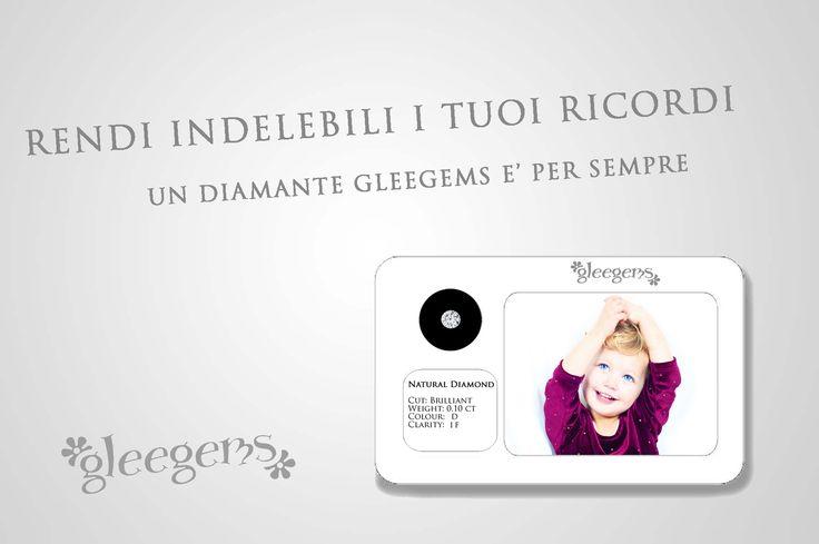 Inviaci la tua foto per una preview gratuita della tua gleegems personalizzata - per l'acquisto visita il sito www.gleegems.it o contattaci per conoscere i rivenditori più vicini!