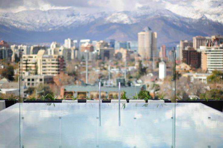 Rooftop Hotel Bars With Incredible Views: Noi Hotel in Santiago, Chile | Condé Nast Traveler - 2012