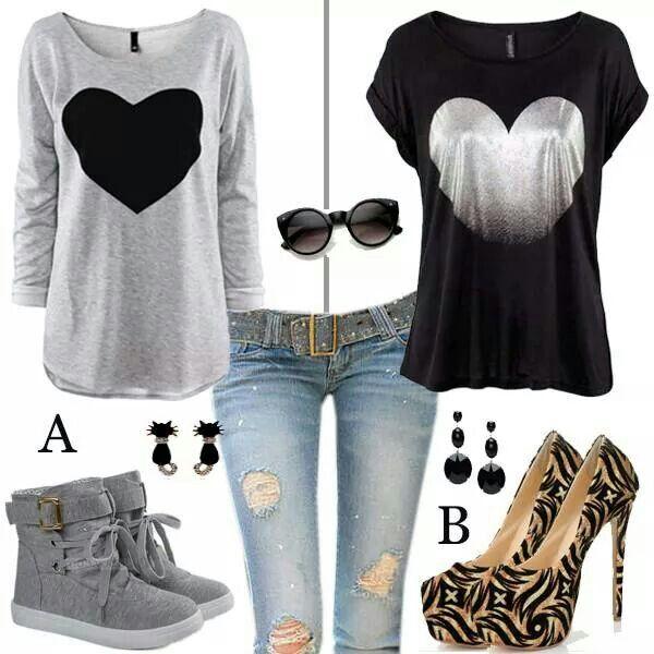 Conjunto de ropa muy juvenil! #LoveIt