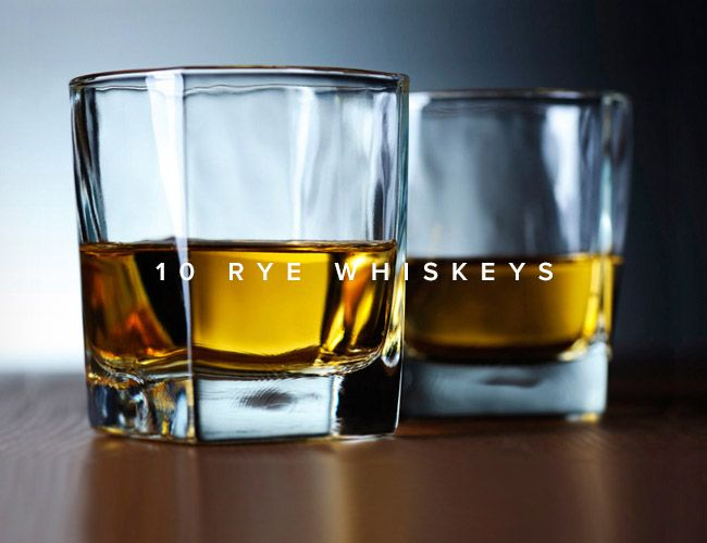 Roundup: 10 Great Rye Whiskeys to Try