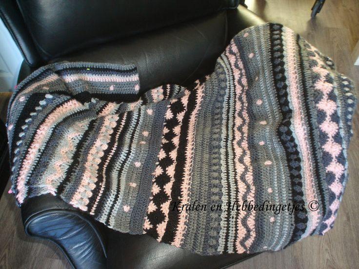 Kralen en Hebbedingetjes: CAL-deken