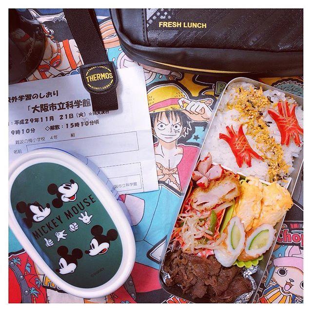 ⋆ 毎度手抜き弁当🙊 👦🏻🎒 #社会見学 #遠足#小学生お弁当  #男子弁当  #お弁当#ランチ#肉 #弁当#弁当記録 #lunchbox #lunch