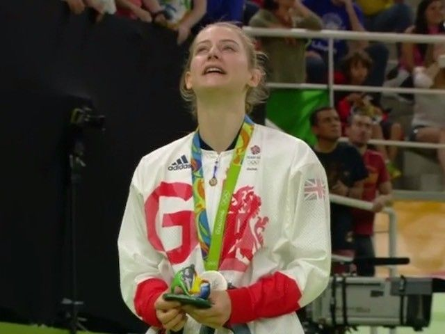 Result: Bryony Page wins historic silver for Great Britain